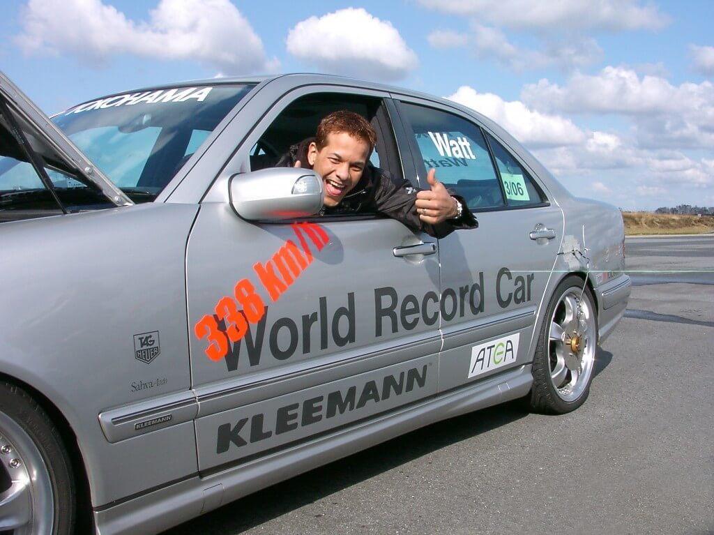 Kleemann world record 338 km/h