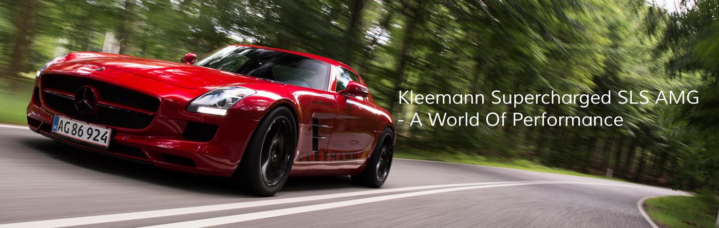 Kleemann Supercharged SLS AMG