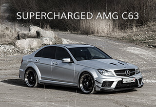 Supercharged C63 AMG