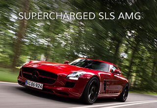 Supercharged SLS AMG