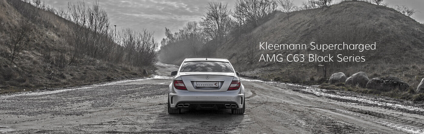 Kleemann Supercharged AMG C63 Black Series